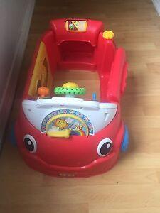 Child musical car