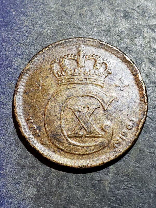 1919 Denmark 5 Ore Coin -