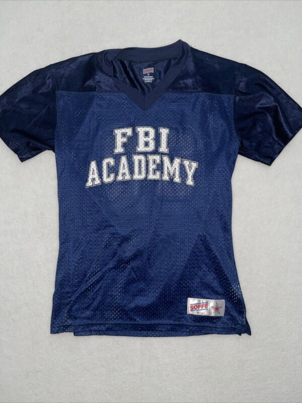 Vintage FBI National Academy Soffe Small Mesh Football Style Jersey