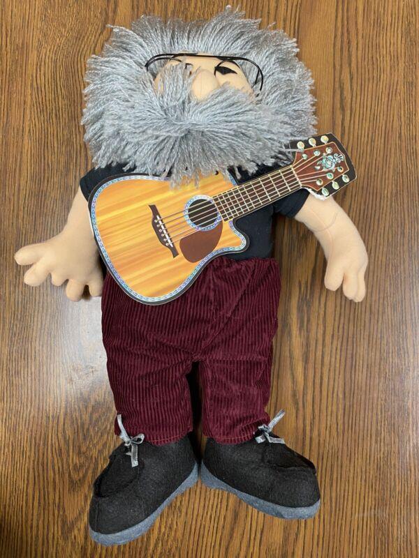 Liquid Blue/Gund The Jerry Garcia Plush Doll GRATEFUL DEAD Vintage 1998