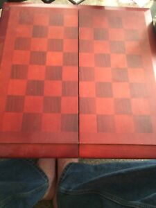 Wood chess set  and checkers