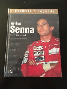 F1 Legend Ayrton Senna book. New. 30$.