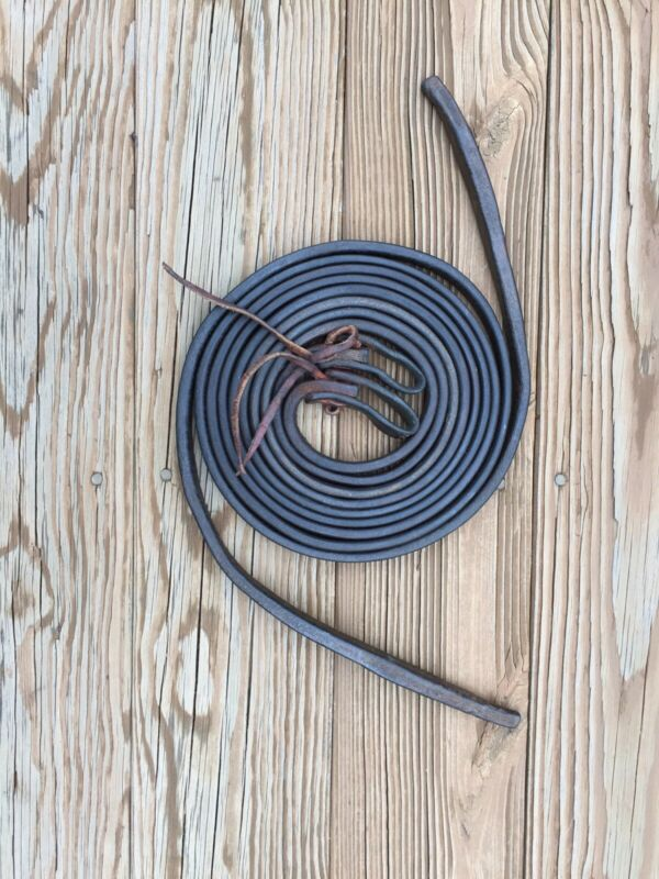 Harness Leather Western Split Reins Water Loop Over 8 Feet Long