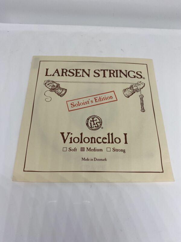 Larsen Strings Soloist 4/4 Cello A String Medium Alloy-Steel, Violoncello I