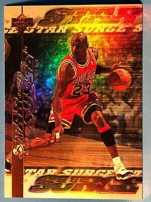 1999-00 Upper Deck Michael Jordan Star Surge Holographic Foil #S1