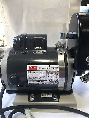 Dayton Electric Industrial Motor Single Phase 13 Hp Part No. 6k490be