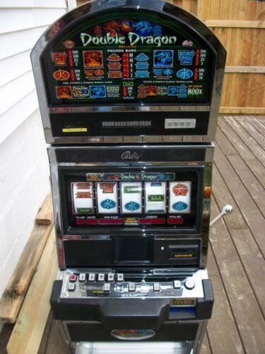 BALLY ALPHA 9000 DOUBLE DRAGON 5-REEL SLOT MACHINE