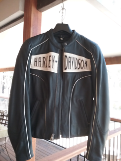 HARLEY DAVIDSON LEATHER MOTORBIKE JACKET