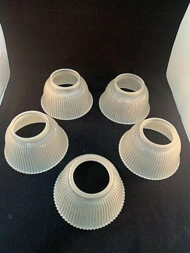 Set Of 5 Reproduction Gas Shades