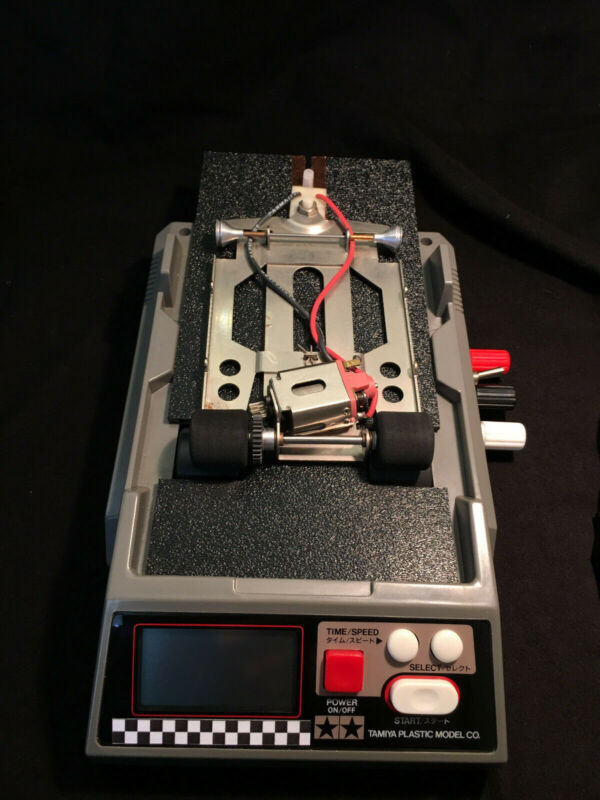 1/24 & 1/32 SLOT CAR TREADMILL DYNO FOR TUNING/BREAK IN WITH POWER SUPPLY