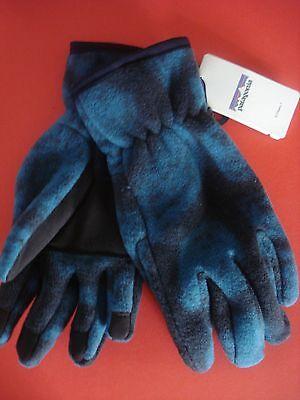 Patagonia Synch Gloves Shale//Navy Blue Snowboard Trek Size XS /& XXS