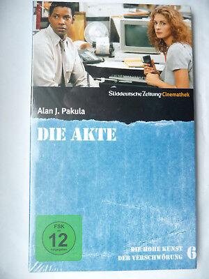 DIE AKTE - DVD - Julia Roberts, Denzel Washington - Film-Klassiker - NEU/OVP (Julia Roberts Filme)