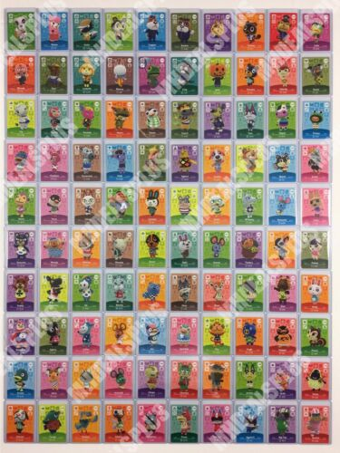 AUTHENTIC Animal Crossing New Horizons Amiibo Cards - Series 2 (#101-200) [US]