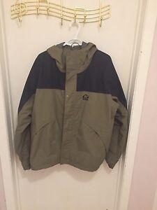 Sorel rain jacket men's xl