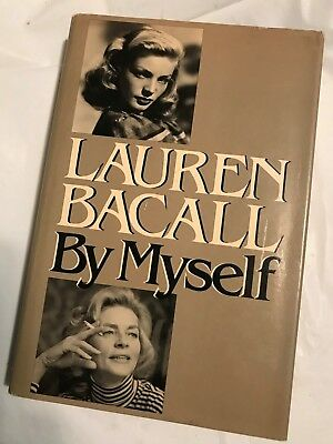 First Edition 1979 Knopf  BY MYSELF  LAUREN BACALL  Bogart' Baby Cinderella (Cinderella Adult Version)