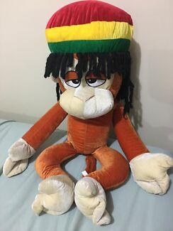 Reggae Monkey - stuffed animal toy