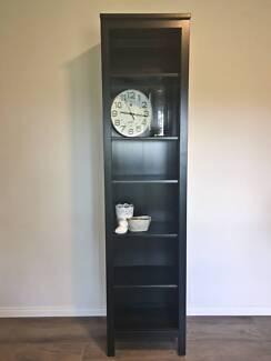 Ikea Hemnes Bookcase in black-brown (Size 49x198 cm)