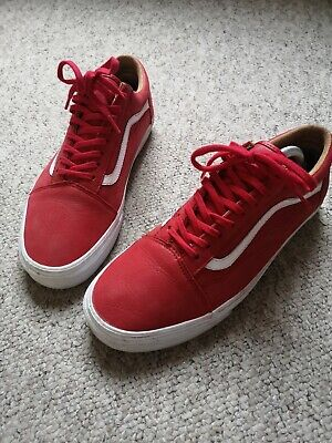 Vans old skool UK 9 red