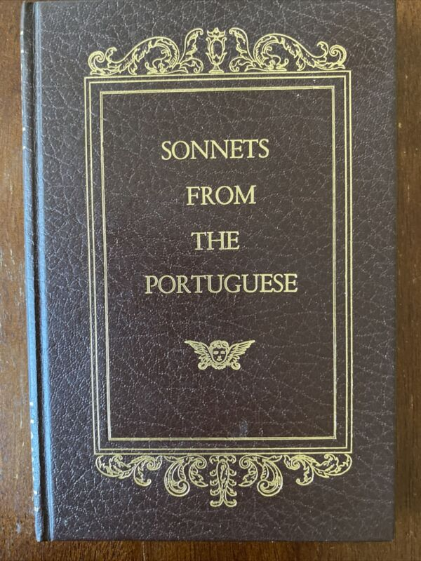 Sonnets From The Portuguese by Elizabeth Barret Browning Hardcover, Avenel Books