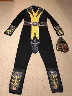 Men's Mortal Kombat Scorpion Costume/Halloween/Party/Dress up