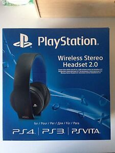 PlayStation Wireless Headphones Coomera Gold Coast North Preview