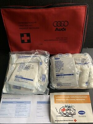 New 2002-2008 Audi A4 S4 B6 B7 Emergency Medical First Aid Kit 8E0860281 13164
