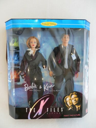 Barbie And Ken The X Files Fight The Future Gift Set #19630 1998 CE NRFB