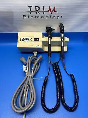 Welch Allyn 767 Wall Transformer Diagnostic Set W Otoscope Ophthalmoscope
