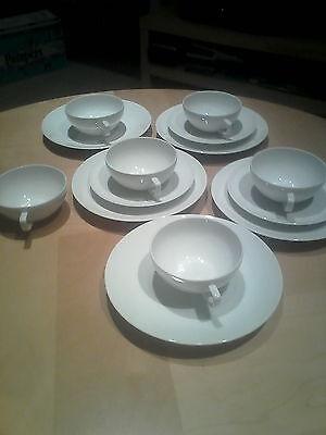 Melitta Minden? weiss Teeservice/Kaffeeservice 14 Teile