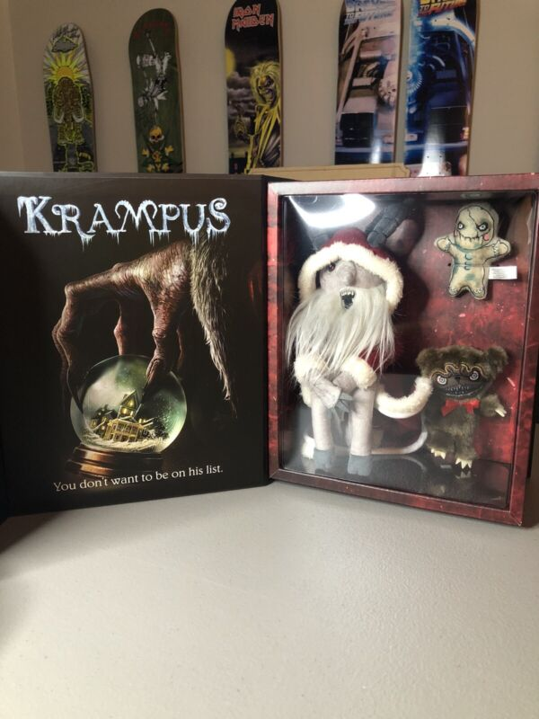 Krampus On The Mantle Deluxe Edition FYE Exclusive. Sealed Brand New Horror