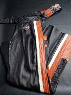 XL and LARGE Women's Harley Davidson leather chaps