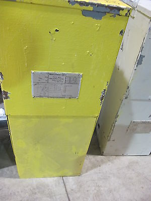 Westinghouse Mcp 10 Kva 480 X 120240 Volt 1ph Substation Transformer- T180