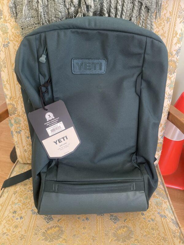 NEW SOLD OUT  YETI CROSSROADS 35L backpack AQUIFER BLUE GREEN