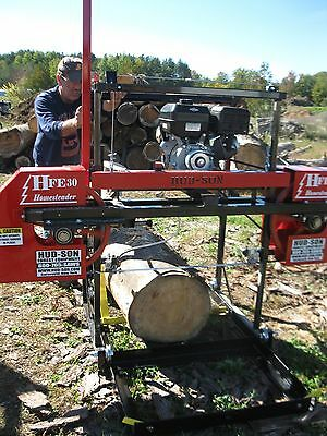 2018 Hud-son Forest Hfe-30 Portable Sawmill Bandmill Band Mill Lumber Maker
