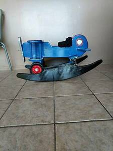 2 in 1 biplane rocker and push along handmade toy Cairns North Cairns City Preview