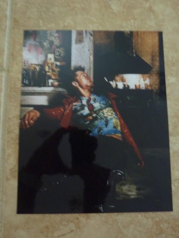 Brad Pitt Fight Club Color 8x10 Picture Photo