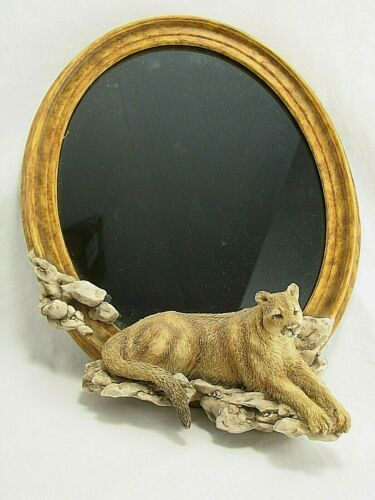 Mill Creek Studios Cougar Mountain Lion 13 inch Mirror 2000