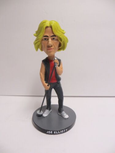 NEW Joe Elliott of Def Leppard Bobblehead Singer Rock n Roll Band