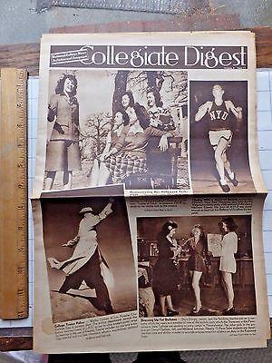 World War Ii Era Collegiate Digest Magazine  College News In Picture   Paragraph