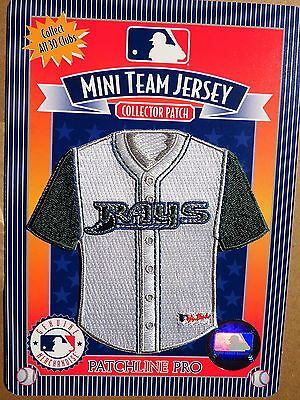 MLB Tampa Bay Rays Home Mini-Jersey 4 Inch Patch From 2006
