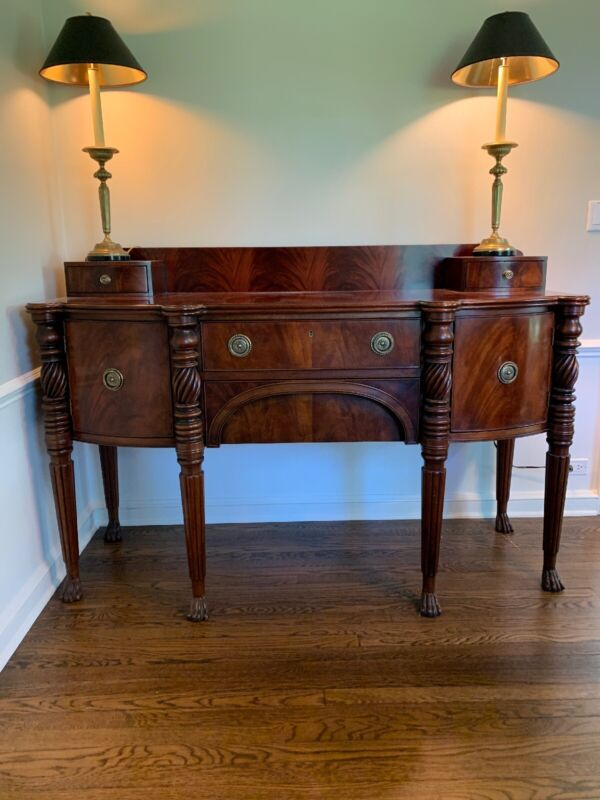 Buffet Sideboard Dining Room Mahogany Pristine $7,000 Piece Henredon Furniture