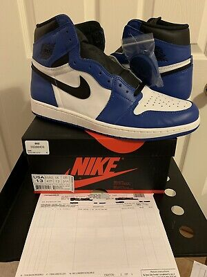 premium selection b9674 1265b Clothing, Shoes   Accessories Air Jordan Retro 1 High OG Game Royal Black  White 555088-403 ...