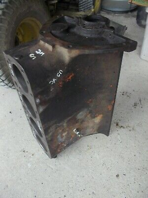 Unstyled Allis Chalmers Wc Tractor Original Ac Good Engine Motor Block