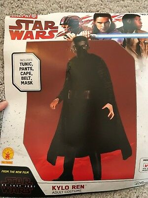 NEW Star Wars Kylo Ren Adult Costume by Rubies SZ MED (38-40)