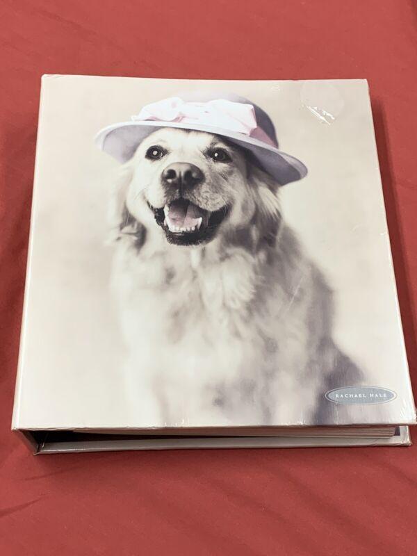 2001 RACHEL HALE Animal Art 40 PAge Photo Album Golden Retriever 8 X 10 NEW