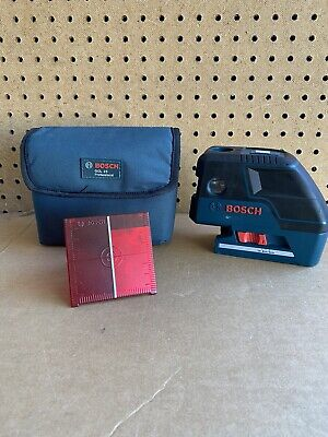 Bosch Gcl25 Professional Five-point Self Leveling Alignment Laser Cross-linetool