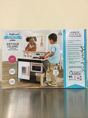 Kid Kraft Artisan Island Toddler Play Kitchen