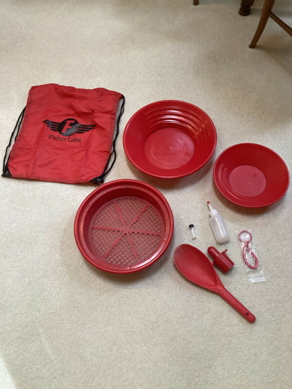 """""""Back Pack"""" Gold Prospecting Kit. Now You Can Do It! See Details."""