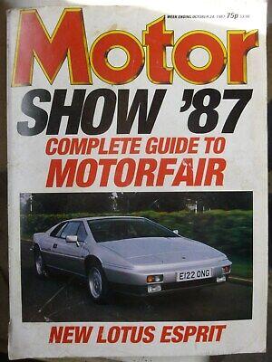 MOTOR 87/10/24 MERCEDES 300CE LOTUS ESPRIT PORSCHE 911 TURBO ROVER 800 SAPPORO comprar usado  Enviando para Brazil