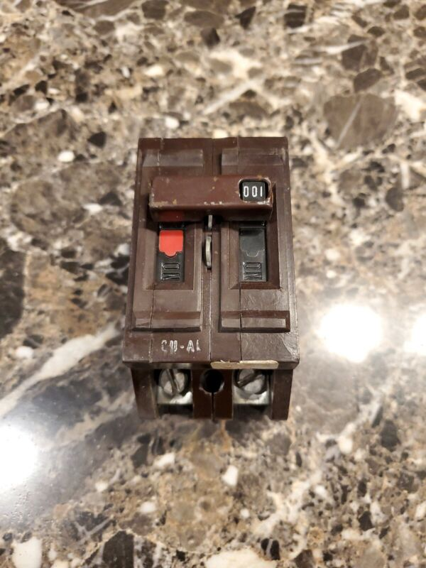 100 Amp Wadsworth 100A Double 2 Pole 240V Main Circuit Breaker